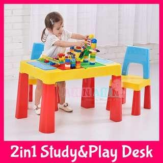 Lego Base Study Play Game Desk Table Top Kids Students Child