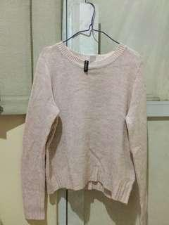 H&M Knit Baby Pink