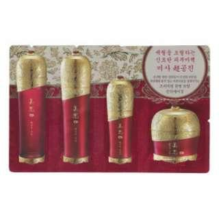 #payday30 FREE SHIPPING MISSHA Chogongjin 4item (1ml+1ml+1ml+1ml) Skin, emulsion, serum, cream
