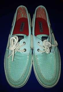 Original Sperry Bahama 2-Eye Sequins Boat Shoes for Women