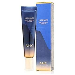 FREE POSLAJU AHC ULTIMATE REAL EYE CREAM FOR FACE 30ML (original full size)