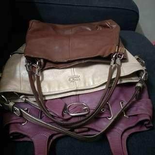 Combo 3  authentic Coach Handbag