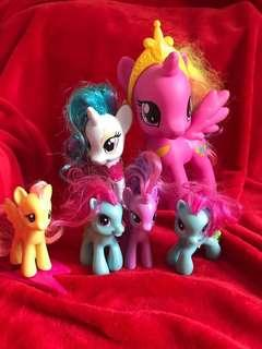 🚚 MLP My Little Pony Set of 5pcs