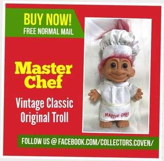 🚚 Troll Master Chef 6 Inches Vintage