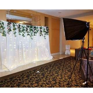 Instant Photobooth Service (Weddings/ Events/ Corporate/ Parties)