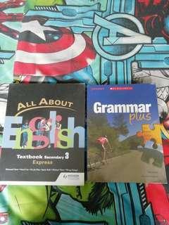 Sec 3 English Textbook set