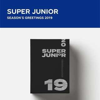 💙SUPER JUNIOR SEASON's GREETINGS 2019 💙
