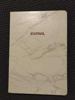 A5 Marbled Hardcover Notebooks