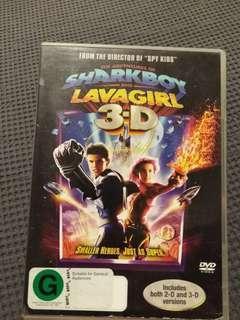 DVD The Adventures of Sharkboy & Lavagirl in 3-D