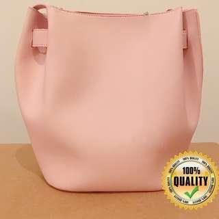 SALE!!! Pastel Pink Bucket Bag
