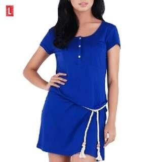 Blue Dress Size M - L