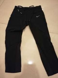 Nike 3 quarter pants black and dark blue BUY 1 FREE 1
