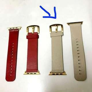 Apple Watch 42mm 卡其色 銀帶