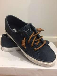 Sperry Seacoast Core Canvas Navy Sneaker