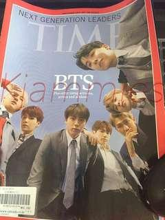 BTS Time Magazine with poster
