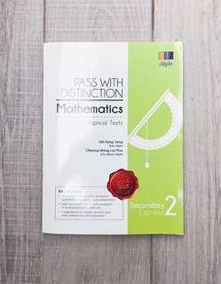 Pass with distinction mathematics ( Sec 2E )