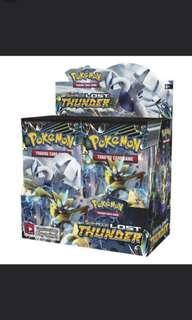 Pokemon TCG Sun & Moon Lost Thunder Box