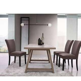 promotion price!brand new 1 dining table + four chairs