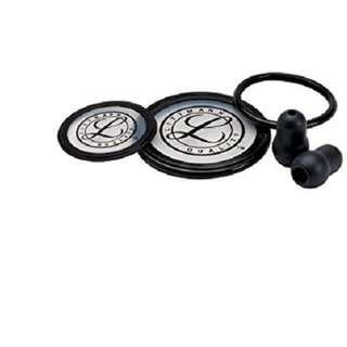 3M Littmann Stethoscope Spare Parts Kit, Cardiology III, Black, 40003