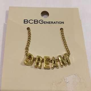 BCBG Dream gold necklace