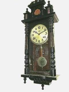 Gorgeous Long Casing Japan Occupied Period Wall Winding Clock