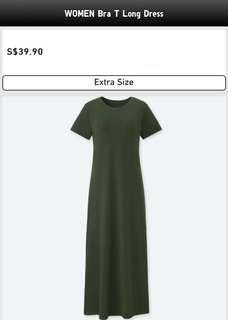 WOMEN BRA T LONG DRESS