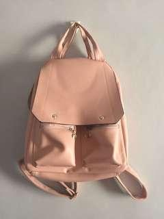 Pink Backpack Bag