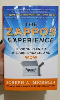 The Zappos Experience Hard Cover, Michelli