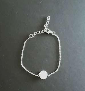 CHRISTMAS / FESTIVE SALE -Fashion silver anklet or bracelet