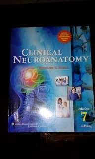 ◽ Clinical Neuro Anatomy by Richard Snell, 7th edition (original) Good as New
