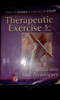 ◽ Therapeutic Exercises by  Kisner and Colby, 5th edition (original) glossy pages