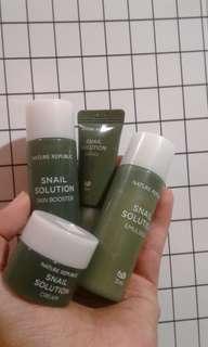 Nature republic snail solution kit