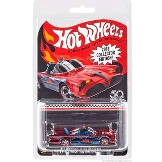 4 left 2018 Hot Wheels Mail In '66 Batmobile