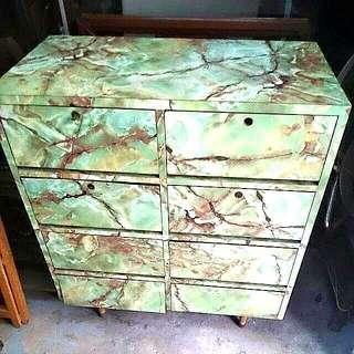 💥Vintage Pencil Legs Chest of drawers
