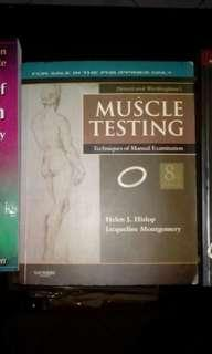 ◽ Muscle Testing by Hislop and Montgomery, 8th edition