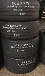 245 35 19 / 275 30 19 Staggered Continental