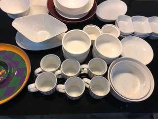 Assorted Glassware