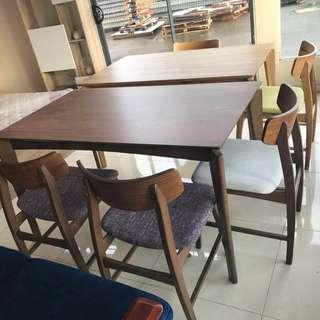 brand new dining set 1 table 4 chairs promotion