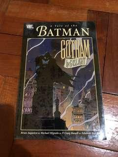 DC comics Batman Gotham by Gaslight