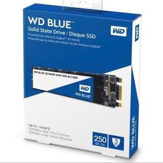 WD BLUE 250GB BLUE M.2 SSD