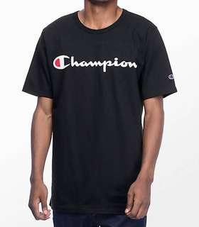 T shirt champion script