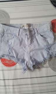 Berska blue shorts