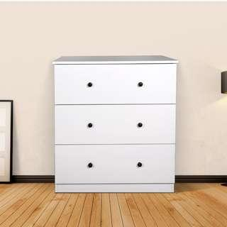 brand new 3 drawers chest