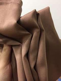 Satin shawl + inner