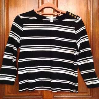FOREVER 21 Stripes Crop Shirt #DeclutterWithJohanis
