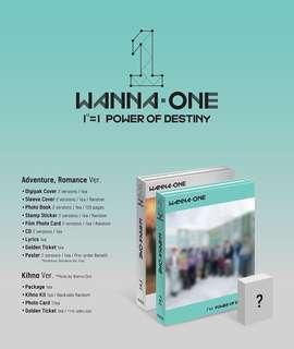 [INCL GIVEAWAY] Wanna One Power Of Destiny Album