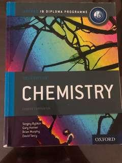 IB Chemistry text book Oxford Publication