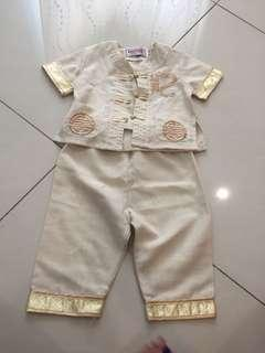 Baby traditional clothes chinese