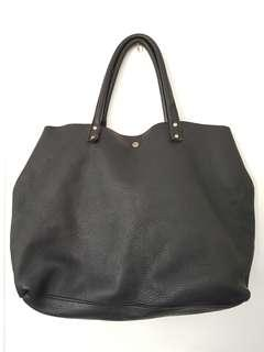 genuine leather tote bag from korea