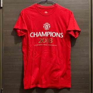 曼聯 第20冠 官方 紀念 T-Shirt Tee 波衫 球衣 jersey